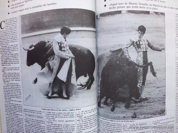 Tauromaquia: REVISTA TOROS 92 AÑO 1988 - 10 NUMEROS EN UN TOMO ENCUADERNADO - Foto 12 - 54911364
