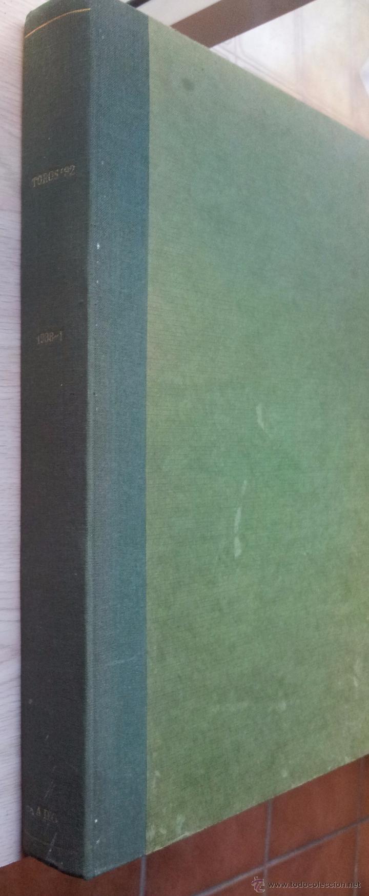 Tauromaquia: REVISTA TOROS 92 AÑO 1988 - 10 NUMEROS EN UN TOMO ENCUADERNADO - Foto 13 - 54911364