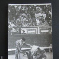Tauromachie: FOTO POSTAL TOROS. J. BIENVENIDA. FOTOGRAFÍA BALDOMERO. . Lote 55098365