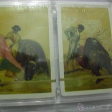 Tauromaquia: LOTE DE DOS BARAJAS HERACLIO FOURNIER TEMA TAURINO ENTRA Y MIRALO. Lote 55530796