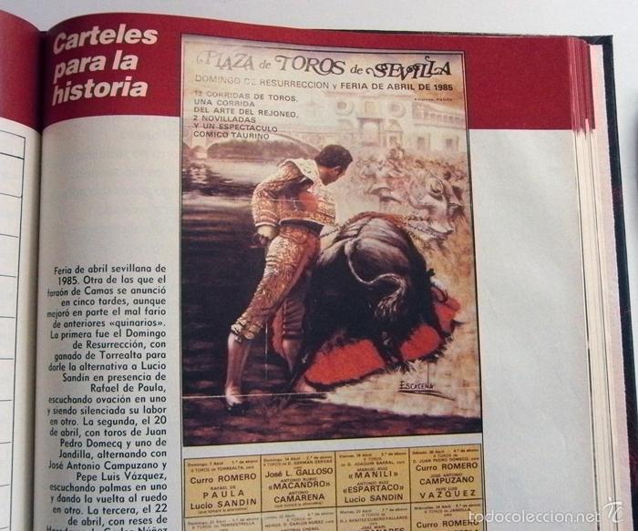 Tauromaquia: CURRO ROMERO UN TORERO DE LEYENDA ABC COMPLETO TAUROMAQUIA BIOGRAFÍA FOTOS CARTELES TOROS LIBRO - Foto 13 - 56016160