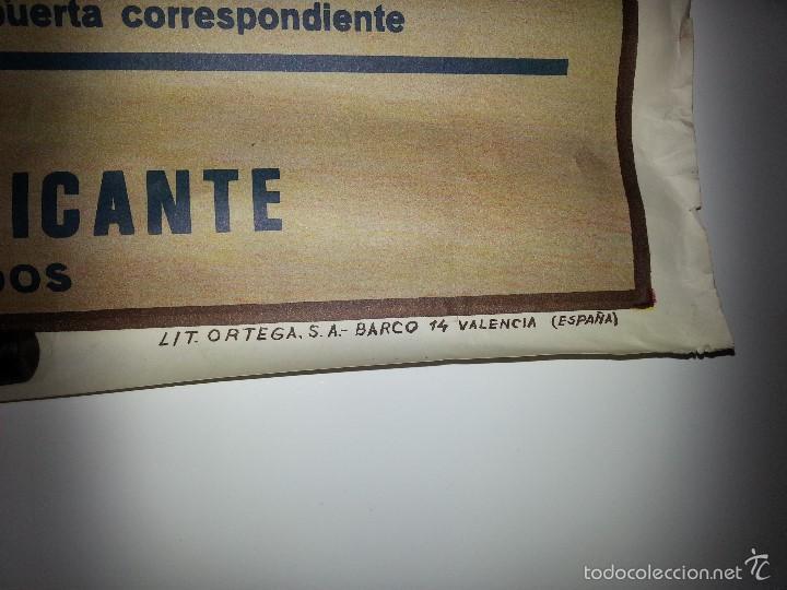 Tauromaquia: ANTIGUO CARTEL GRANDE PLAZA DE TOROS DE ALICANTE FERIA AGOSTO DE 1988 ESPLA - Foto 3 - 56018774