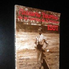 Tauromaquia: ANUARIO TAURINO DE LA CORRIDA DE LA PRENSA 1997 / ASOCIACION DE LA PRENSA DE MADRID . Lote 56737318