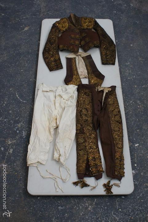 Tauromaquia  lote de tauromaquia - torero -traje de luces - estoque -  capotes - 6397c7efa23