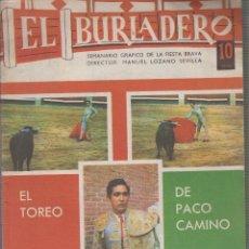 Tauromaquia: REVISTA EL BURLADERO Nº 173 JUNIO 1967 PACO CAMINO.. Lote 57083454
