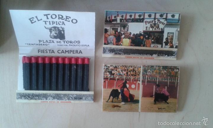 Tauromaquia: 28 cajas de cerillas sin abrir -- Relaccionadas con el mundo del toro -- Benidorm, años 80 - Foto 2 - 57099346