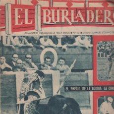 Tauromaquia: REVISTA EL BURLADERO Nº 53 FEBRERO 1965 SEBASTIAN BORRERO CHAMACO. Lote 57107994