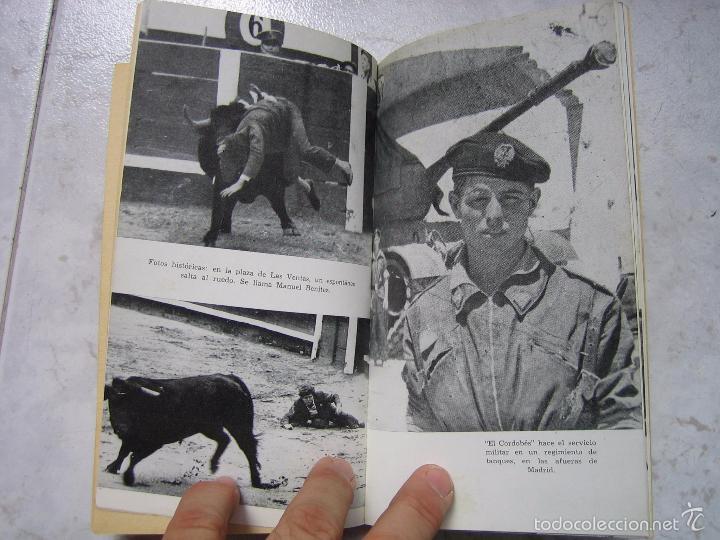Tauromaquia: Libro taurino oro y barro d el cordobés por Tico Medina 1964 - Foto 6 - 57496146