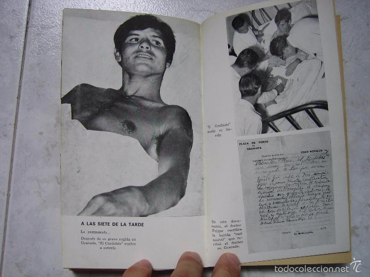 Tauromaquia: Libro taurino oro y barro d el cordobés por Tico Medina 1964 - Foto 7 - 57496146