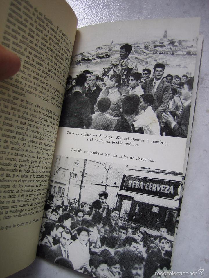 Tauromaquia: Libro taurino oro y barro d el cordobés por Tico Medina 1964 - Foto 8 - 57496146