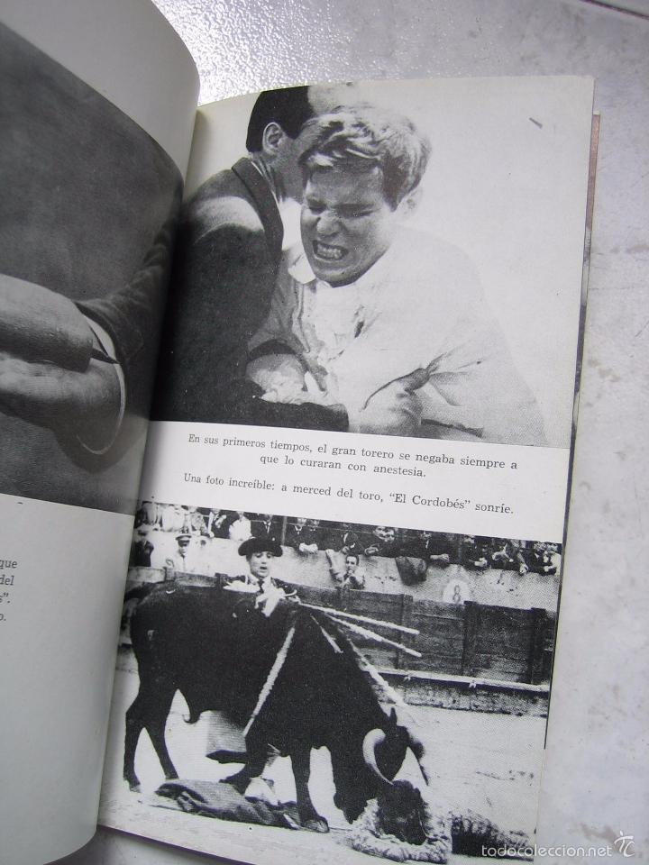 Tauromaquia: Libro taurino oro y barro d el cordobés por Tico Medina 1964 - Foto 9 - 57496146