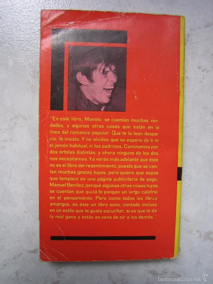 Tauromaquia: Libro taurino oro y barro d el cordobés por Tico Medina 1964 - Foto 10 - 57496146