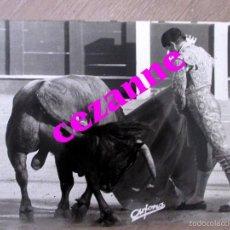 Tauromaquia: CURRO ROMERO. FOTO DE ARJONA. SELLADA. 18 X 24 CM. . Lote 57691072