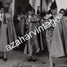 Tauromaquia: RONDA, 1976, CORRIDA GOYESCA , ANTONIO ORDOÑEZ, PACO CAMINO Y PAQUIRRI, ESPECTACULAR,240X176MM. Lote 58159981