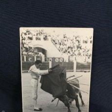 Tauromaquia: FOTO MATADOR TORERO HELIODORO PERAL EN ALBACETE 13X8,5CMS. Lote 58651187