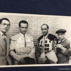 Tauromaquia: FOTO TORERO ANTONIO PALACIOS DÍA SU DEBUT EN MADRID FOT MARI 8,5X13,5CMS. Lote 58651549