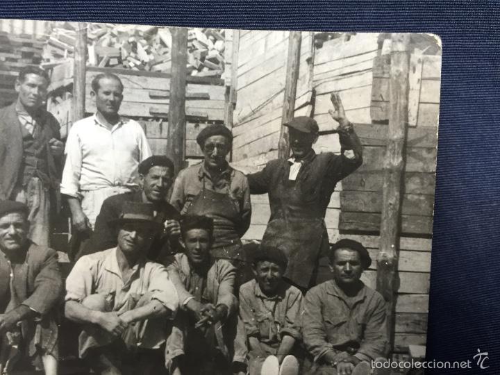 Tauromaquia: Foto varios peones y oficiales de sierra empresa de saconia fot Montoya 7,5x10,5cms - Foto 3 - 58651744