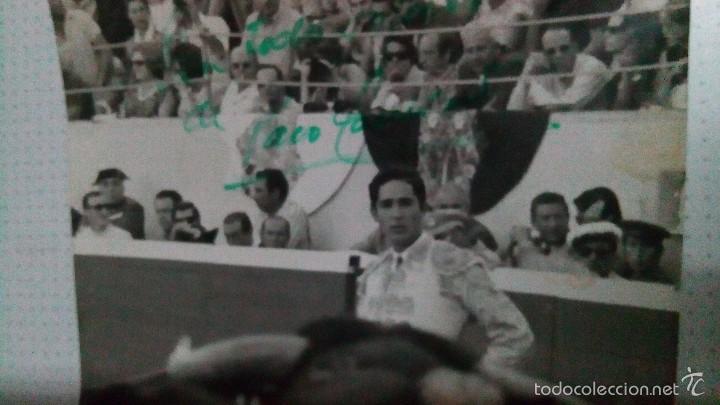 Tauromaquia: Foto de Paco Camino, firmada - Foto 3 - 59792432