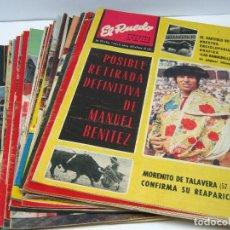 Tauromaquia: LOTE 23 REVISTAS TAUROMAQUIA EL RUEDO - AÑO 1972 PLAZAS FERIAS TOREROS SUERTES ETC. Lote 61504891