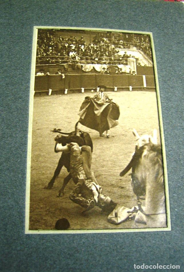 Tauromaquia: Toros: COGIDA Ante el caballo- S. XX-ORIGINAL UNICO - Foto 2 - 61674596