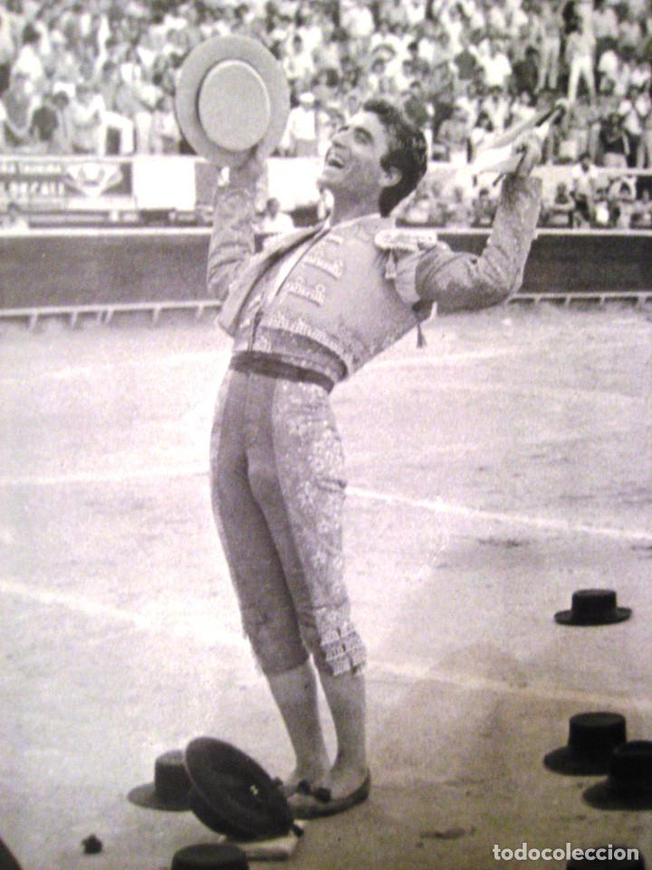 Tauromaquia: Fotografía de ORTEGA CANO- años 80- Tamaño grande 40 x 30 - Foto 2 - 61678324