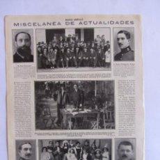 Tauromaquia: RECORTE MUNDO GRAFICO JOSELITO - ANTONIO CALVACHE 17 FEBRERO 1915 NUM. 173 TOROS TAUROMAQUIA. Lote 61828580