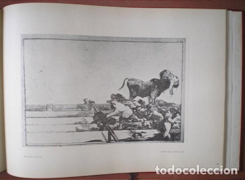 Tauromaquia: GOYA Y LUCIENTES, Francisco de: LA TAUROMAQUIA. Por Antonio de Horna López. Con 40 láminas - Foto 4 - 61993840
