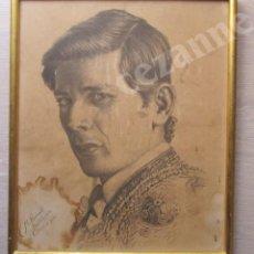 Tauromaquia: RETRATO DEL TORERO MARIO ARÉVALO FERNÁNDEZ, 'MARIO TRIANA'.. Lote 62522812