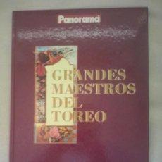 Tauromaquia: GRANDES MAESTROS DEL TOREO DE VICENTE ZABALA. Lote 64941659