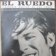 Tauromaquia: REVISTA EL RUEDO. 1964. 26 REVISTAS. DEL Nº1.046 AL 1.071. ENCUADERNADO. 36,5 X 29 CM.. Lote 67557261
