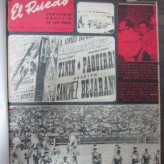 Tauromaquia: REVISTA EL RUEDO. 1967. 26 REVISTAS. DEL Nº1.202 AL 1.227. ENCUADERNADO. 36,5 X 29 CM.. Lote 67560305
