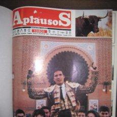 Tauromaquia: REVISTA APLAUSOS. 1993. DEL 823 AL 848. DE JULIO A DICIEMBRE. ENCUADERNANDO. 33,3 X 26 CM. Lote 67570229