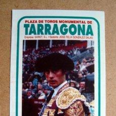 Tauromaquia: PROGRAMA FOLLETO PLAZA TOROS TARRAGONA 1994 - RAFAEL CAMINO, FINITO DE CORDOBA, VICENTE BARRERA . Lote 67668109
