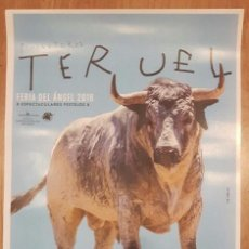 Tauromaquia: CARTEL TOROS MUERTE VICTOR BARRIO TERUEL 2016. Lote 68115681