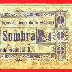 Tauromaquia: ANTIGUA ENTRADA TOROS, PLAZA DE JEREZ DE LA FRONTERA , 1908 ,ORIGINAL , ET 2503. Lote 68866421