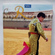 Tauromaquia: LIBRO DEL ABC DE CURRO ROMERO Y EL TOREO SE HIZO ARTE.. Lote 70174545