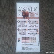 Tauromaquia: CARTEL DE MANO TAURINO -- PUEBLO DE ÁVILA -- CASTILLA LEÓN --. Lote 71811155