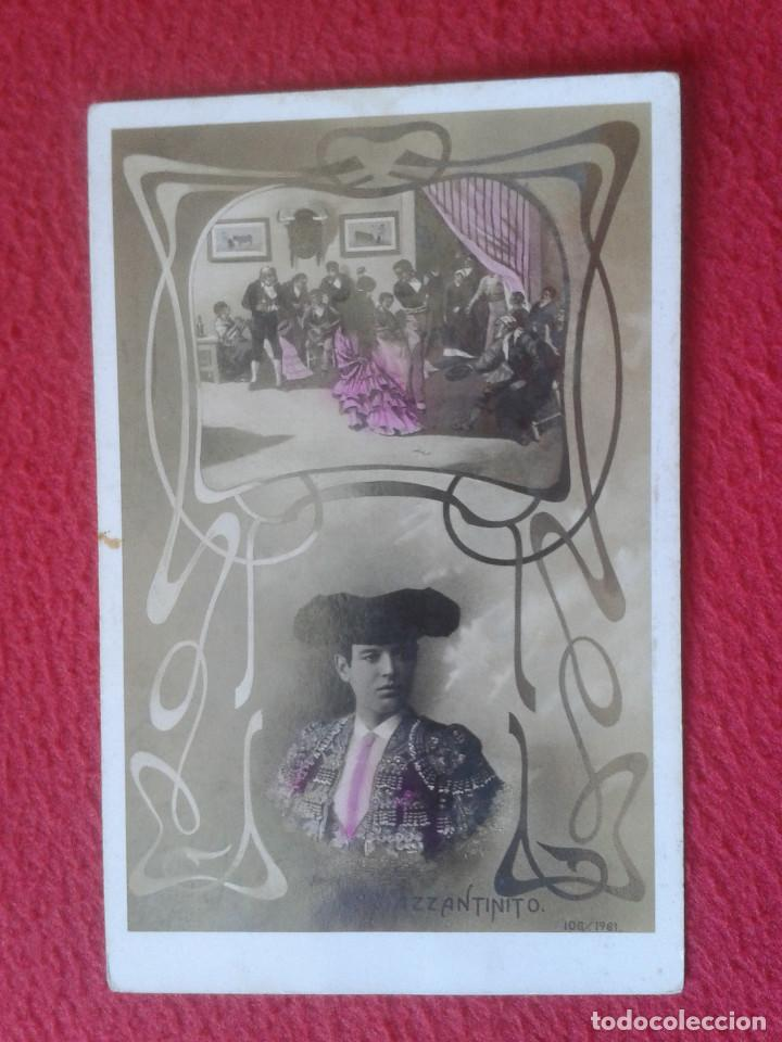 POSTAL POST CARD POSTCARD TOROS TOREO TAUROMAQUIA TORERO MAZZANTINITO BULLFIGHTING 106/.1961. VER (Coleccionismo - Tauromaquia)