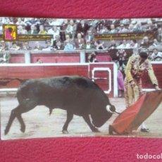 Tauromaquia: POSTAL POST CARD TOROS TOREO TAUROMAQUIA TORERO BULLFIGHTING CORRIDA UN NATURAL FAENA DE MULETA. VER. Lote 72364991