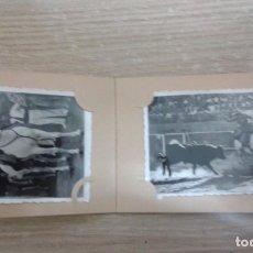 Tauromaquia: 11 ANTIGUAS FOTOGRAFIAS DE LA TORERA CONCHITA CITRON EN UNA CORRIDA DE TOROS AÑOS 50 - 60. Lote 73568847