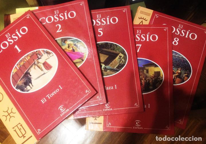 Tauromaquia: EL COSSIO- Edit ESPASA- 5 Tomos sueltos - Foto 2 - 74351019