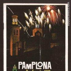 Tauromaquia: ANT-1820_PROGRAMAS DE FIESTAS SAN FERMÍN 1965. Lote 75634523
