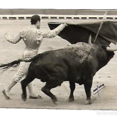 Tauromaquia: FOTOGRAFIA. TOROS. CURRO REMERO. PUERTO DE SANTA MARIA. 1971. FOTO ARJONA. 15 X 12CM. Lote 75678803