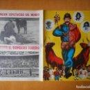 Tauromaquia: FOLLETO DÍPTICO EL BOMBERO TORERO. ARÉVALO, MANOLÍN. PLAZA DE TOROS DE GRANADA, JUNIO 1967. Lote 76170539