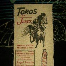 Tauromaquia: CARTEL DE TOROS FERIA DE JEREZ 1968.ANGEL PERALTA-RAFAEL PERALTA-BOHORQUEZ...IMPECABLE. Lote 76707127