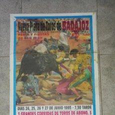 Stierkampf - CARTEL PLAZA DE TOROS DE BADAJOZ. 1993. FERIA SAN JUAN. JOSELITO. ORTEGA CANO, LITRI. 86 X 46 CM - 76823583
