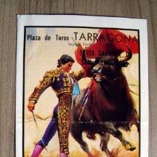 Tauromaquia: FOLLETO, PROGRAMA PLAZA TOROS TARRAGONA 1986 - 4 CORRIDAS - . Lote 76877135