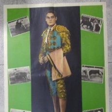 Tauromaquia: CARTEL DE TOROS DE ANTONIO BRECEÑO. 1964. 70 X 50 CM. Lote 78011509