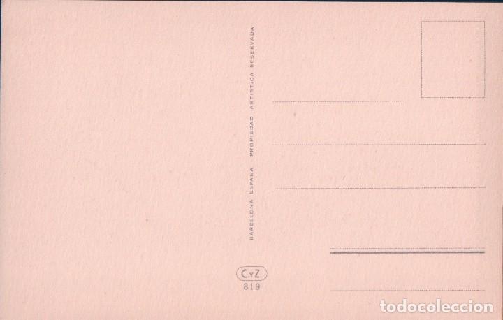 Tauromaquia: POSTAL DIBUJO TOROS - PASE NATURAL - FIRMADA FREIXAS- C.y Z. 819 - Foto 2 - 78658073