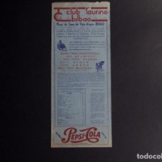 Tauromaquia: CARTEL PLAZA DE TOROS VISTA ALEGRE-BILBAO 1959. Lote 79017485
